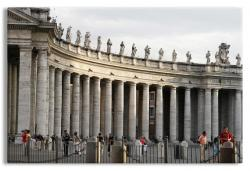 Baroque Collonade St. Peter's Square Rome