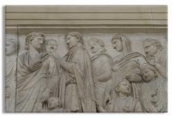 Ara Pacis Augustae, Roman Sculptural Relief
