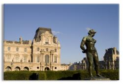 Louvre Garden Statue
