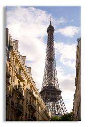 Eiffel Tower Wall Canvas