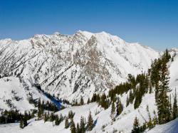 Wasatch Mountains Snowbird