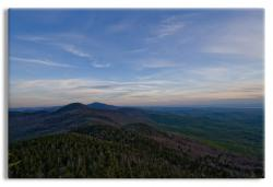 Green Mountains at Dusk Vermont