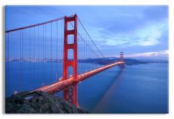 Golden Gate Bridge Stretching Across the Bay