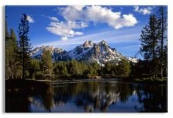 Mt. McGown in the Sawtooth National Forest