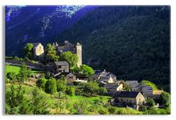 Village of Blajoux in Tarn Gorges