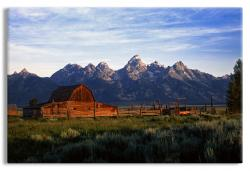 An Old Ranch at the Foot of the Grand Tetons