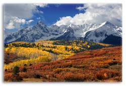 Fall Foliage in the San Juan Mountains