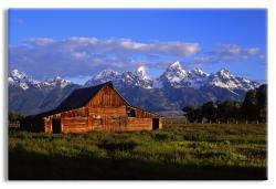 Barn in Grand Teton National Park