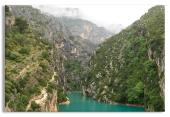 Verdon Canyon Scenic Landscape