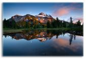 Cascades Mountain Landscape