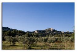 Landscape of Les Beaux France