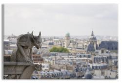 Gargoyle atop Notre Dame
