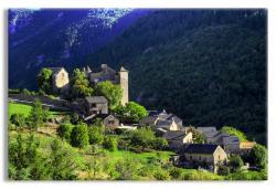 Village of Blajoux in Tarn Gorges