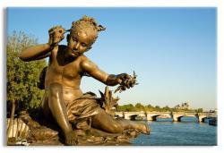 Statue on the Pont Alexandre III, Paris