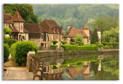 Tranquil Scene in the Dordogne Region of France
