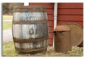 Maple Syrup Barrell